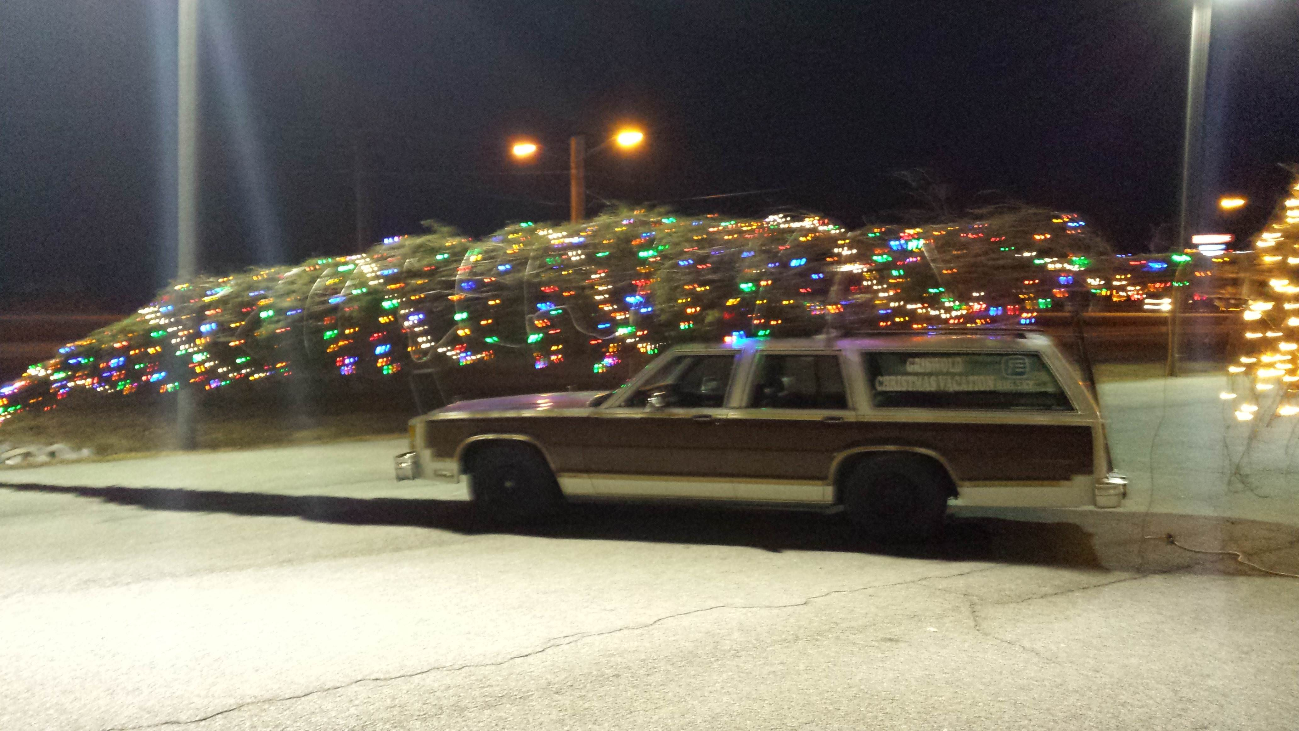 christmas tree for a car